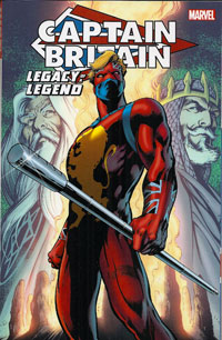 Captain Britain Legacy Of A Legend cover