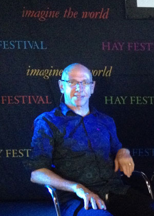 David Thorpe at the Hay Festival